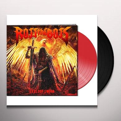 Ross The Boss BY BLOOD SWORN (RED VINYL) Vinyl Record