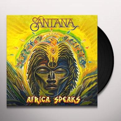 Santana AFRICA SPEAKS Vinyl Record