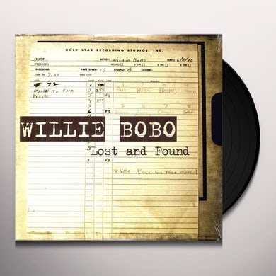 Willie Bobo LOST & FOUND Vinyl Record