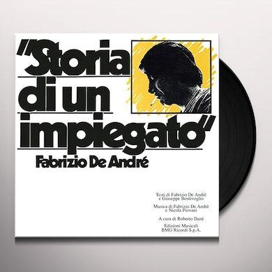 Fabrizio De Andre STORIA DI UN IMPIEGATO Vinyl Record