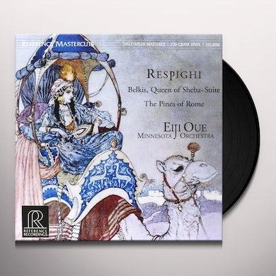 Respighi BELKIS QUEEN OF SHEBA / PINES OF ROME Vinyl Record