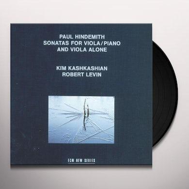 Hindemith SONATAS FOR VIOLA & PIANO Vinyl Record