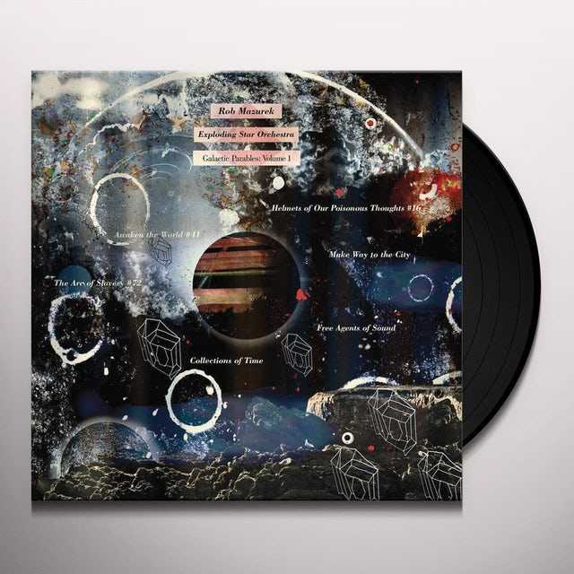Rob Mazurek / Exploding Star Orchestra GALACTIC PARABLES 1 Vinyl Record