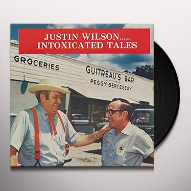 Justin Wilson INTOXICATED TALES Vinyl Record