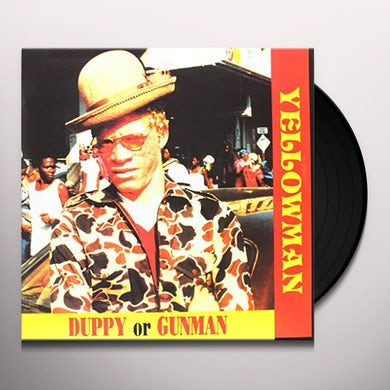 Yellowman DUPPY OR GUNMAN Vinyl Record