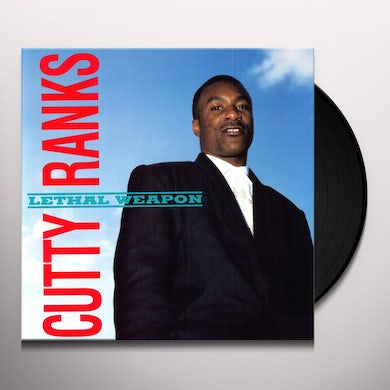 Cutty Ranks LETHAL WEAPON Vinyl Record