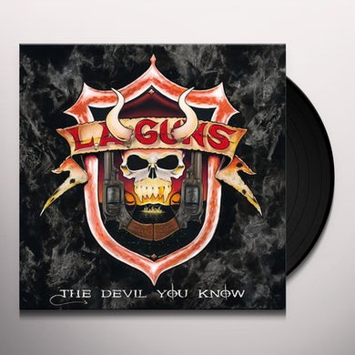 LA Guns  Devil You Know Vinyl Record