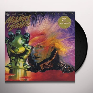 Edgar Winter / L. Ron Hubbard MISSION EARTH Vinyl Record