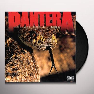 Pantera Great Southern Trendkill  Ie  Marbled Orange Vinyl  Brick/Mortar Only Vinyl Record