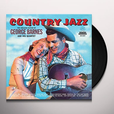 George Barnes COUNTRY JAZZ Vinyl Record