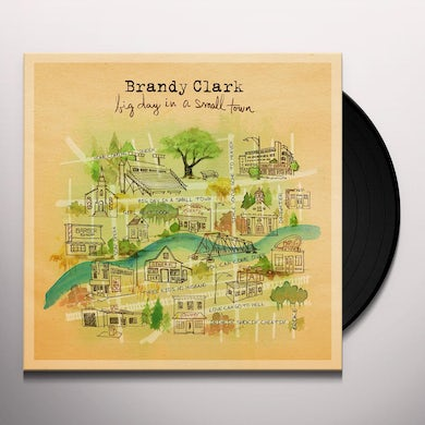 Brandy Clark BIG DAY IN A SMALL TOWN Vinyl Record