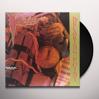 Heretic BREAKING POINT Vinyl Record