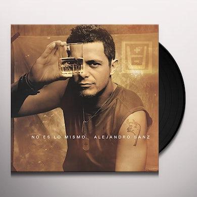 Alejandro Sanz NO ES LO MISMO Vinyl Record