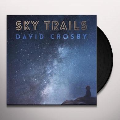 David Crosby SKY TRAILS Vinyl Record