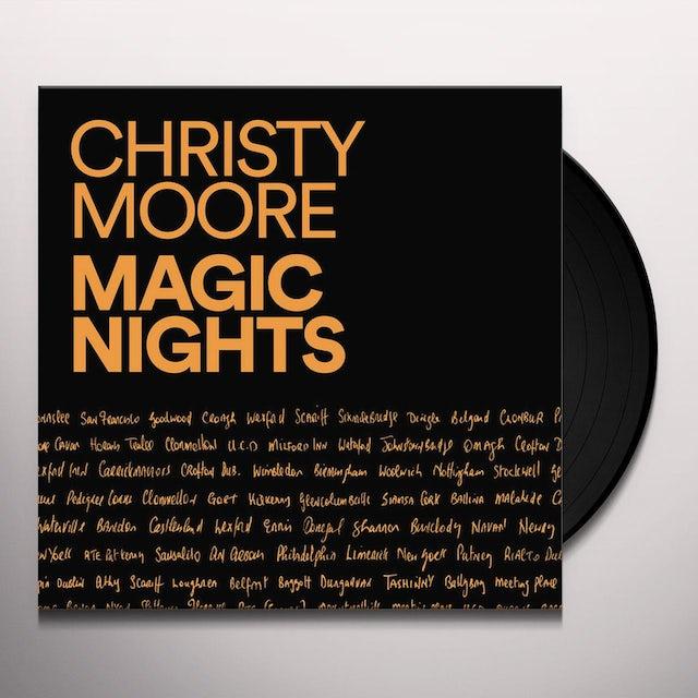 Christy Moore MAGIC NIGHTS Vinyl Record