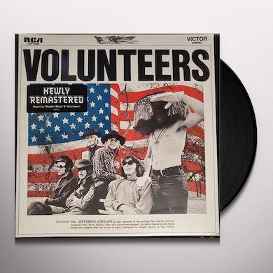 Jefferson Airplane VOLUNTEERS Vinyl Record