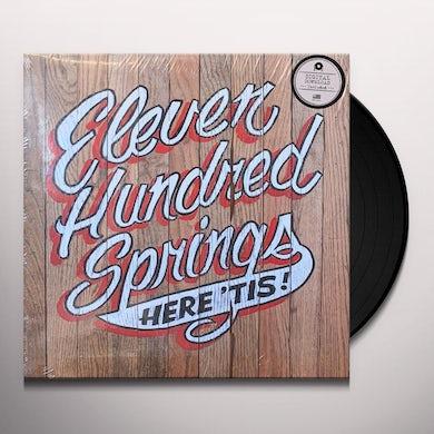 Eleven Hundred Springs HERE 'TIS Vinyl Record
