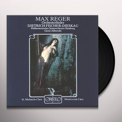 Fischer-Dieskau / St Michaelis Chor Hamburg ORCHESTERLIEDER Vinyl Record