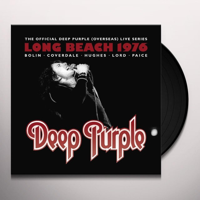 deep purple live at long beach arena 1976 vinyl record. Black Bedroom Furniture Sets. Home Design Ideas