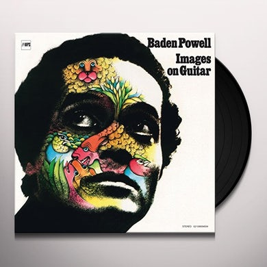 Baden Powell IMAGES ON GUITAR Vinyl Record
