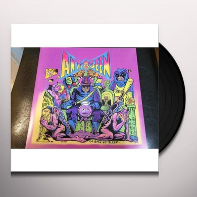 Antiseen / Before I Hang GUYANA GRAPE Vinyl Record