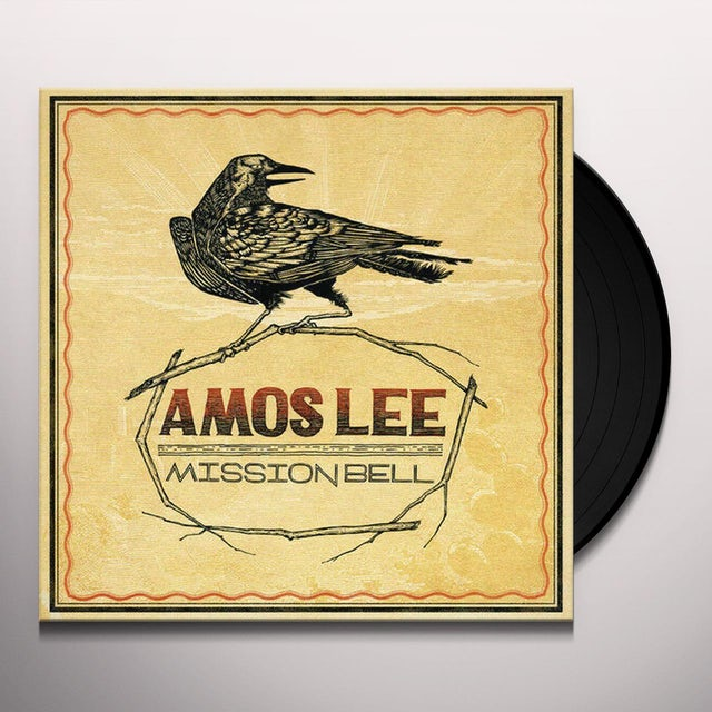 Amos Lee MISSION BELL Vinyl Record