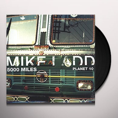 Mike Ladd 5000 MILES WEST OF THE FUTURE Vinyl Record