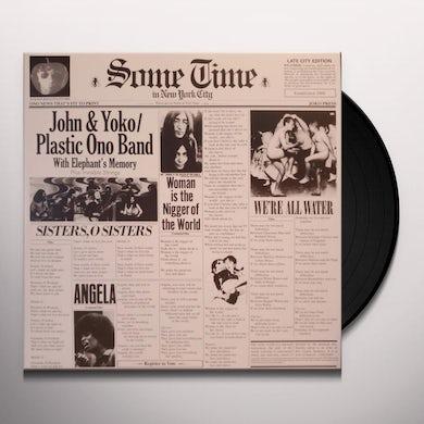 John Lennon SOME TIME IN NEW YORK CITY Vinyl Record