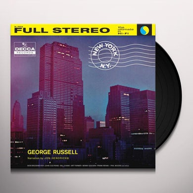 George Russell NEW YORK NY Vinyl Record