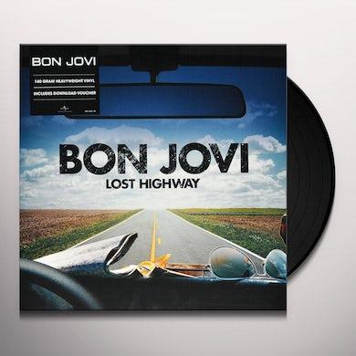Bon Jovi LOST HIGHWAY Vinyl Record