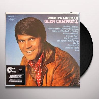 Glen Campbell Wichita Lineman (LP) Vinyl Record