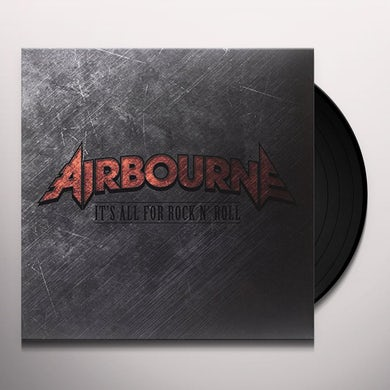 Airbourne IT'S ALL FOR ROCK Vinyl Record - Canada Release