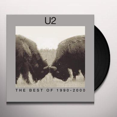 U2 BEST OF 1990-2000 Vinyl Record