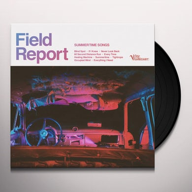 Field Report Summertime Songs (LP) Vinyl Record