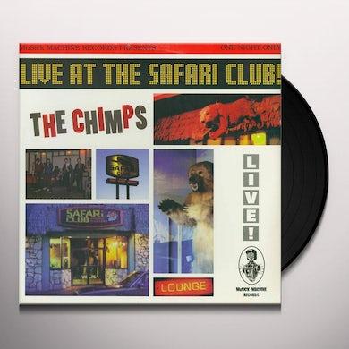 CHIMPS LIVE AT THE SAFARI CLUB Vinyl Record