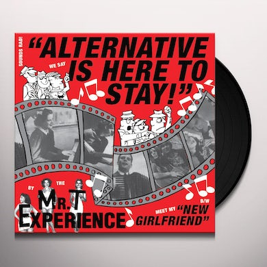 Mr. T Experience  ALTERNATIVE IS HERE TO STAY Vinyl Record