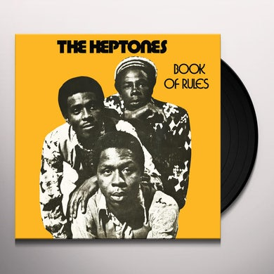 Heptones BOOK OF RULES Vinyl Record