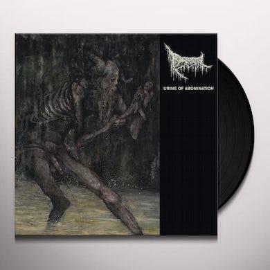 Triumvir Foul URINE OF ABOMINATION Vinyl Record