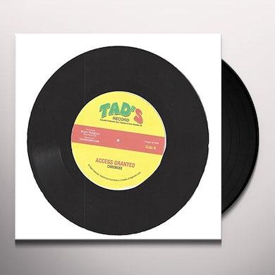 Chronixx / Iba Mahr ACCESS GRANTED / LET JAH LEAD THE WAY Vinyl Record