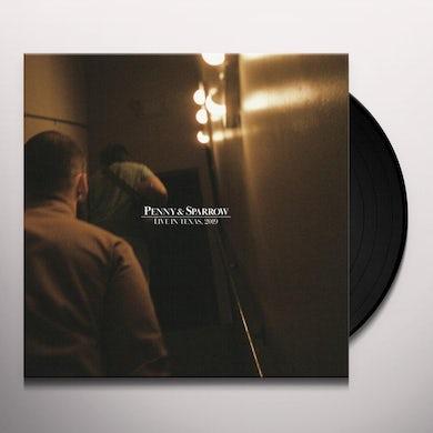 Penny & Sparrow LIVE IN TEXAS 2019 Vinyl Record