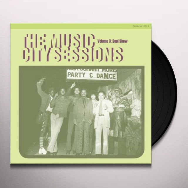 MUSIC CITY SESSIONS 3 / VARIOUS Vinyl Record