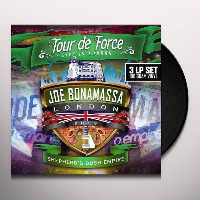 Joe Bonamassa TOUR DE FORCE-SHEPHERD? BUSH EMPIRE Vinyl Record