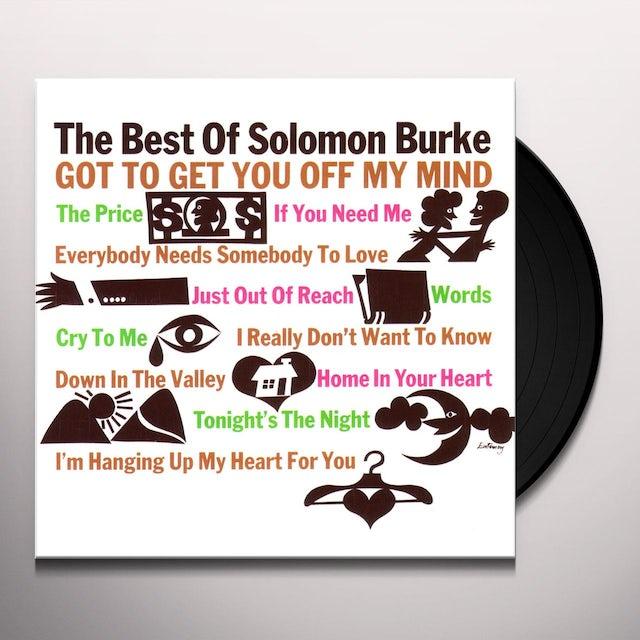 BEST OF SOLOMON BURKE Vinyl Record