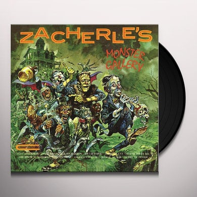ZACHERLE'S MONSTER GALLERY Vinyl Record