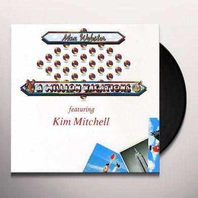Max Webster MILLION VACATIONS Vinyl Record