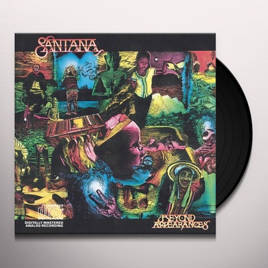 Santana BEYOND APPEARANCES Vinyl Record