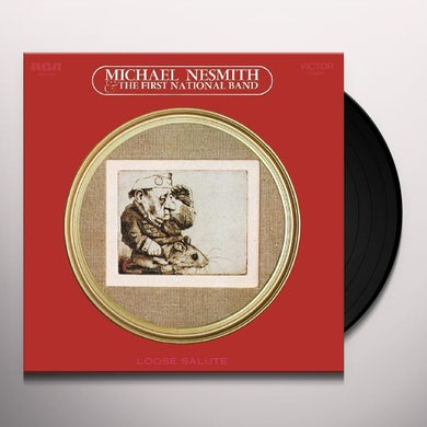 Michael Nesmith LOOSE SALUTE Vinyl Record