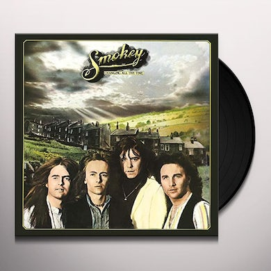 Smokie CHANGING ALL THE TIME Vinyl Record