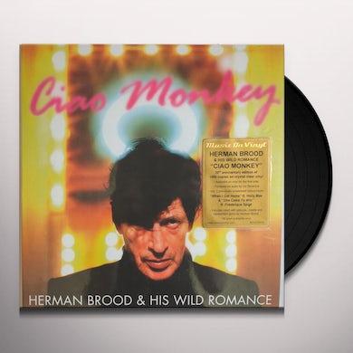 Herman Brood & His Wild Romance CIAO MONKEY Vinyl Record