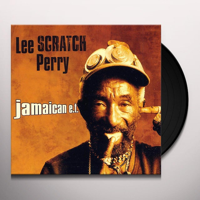 Lee Scratch Perry JAMAICAN E.T. Vinyl Record